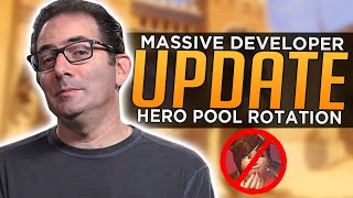 Overwatch: HUGE Developer Update! - Hero Pool Rotations