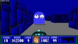 Wolfenstein 3D - Episode 3, Floor 10