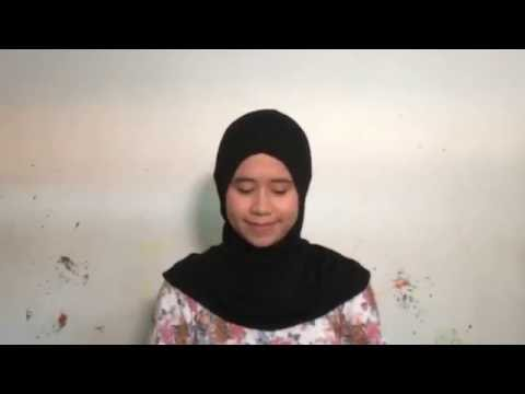 How to use one step instant hijab from vanilla www.vanillahijab.com.