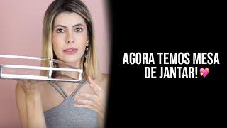 CHEGOU NOSSA MESA DE JANTAR! | Diário de Reforma #06