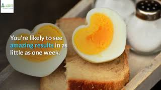 i went on the boiled egg diet and lost 5 kg every week