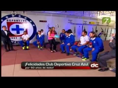 PROGRAMA ESPECIAL DEPORTE CALIENTE 50 ANIV  DEPORTIVO CRUZ AZUL