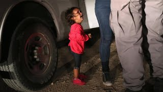 Viral photo of crying Honduran girl: Border agent says there's more to story