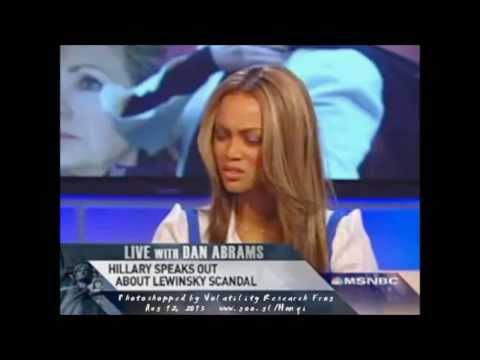 Is she truthful? Hillary Clinton interview with Tyra Banks about Monica Lewinsky - screengrabs #362e