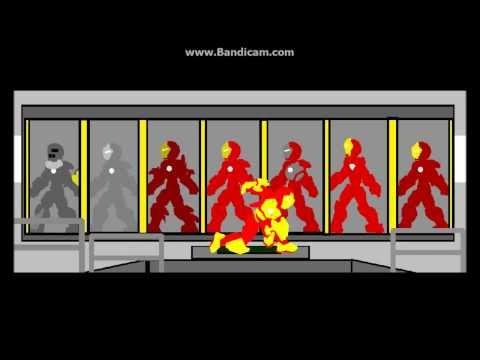Pivot Iron Man 3 Mark 42 Suit Up!!!!