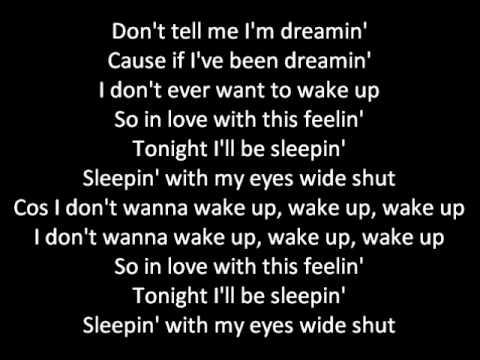 JLS ft. Tinie Tempah - eyes wide shut, with lyrics.