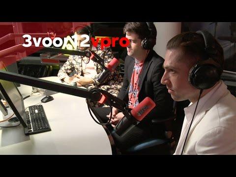 Interview met Mini Mansions Live bij 3voor12 Radio