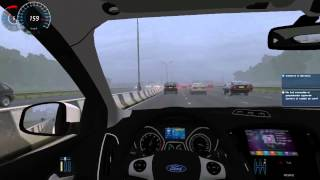 City Car Driving 1 2 5 Ford Focus III ST + Trackir 5 + G27