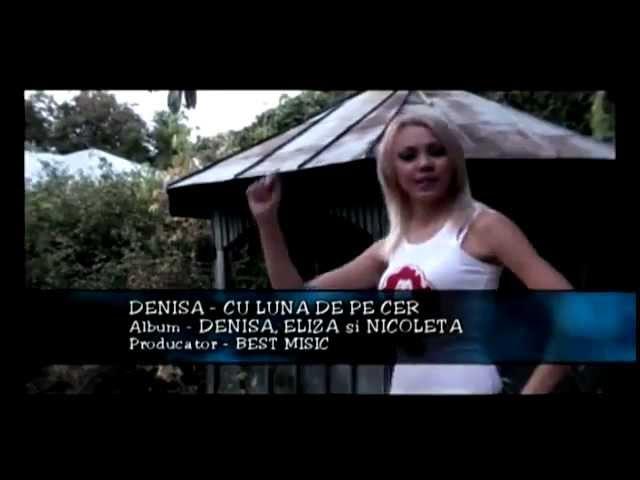 Denisa - Cu luna de pe cer HIT (Videoclip Original)