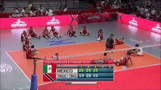 NORCECA Mexico VS Trinidad y Tobago