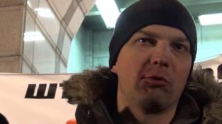 Полиция избила Народного депутата Егора Соболева. 19.02.2017 г.