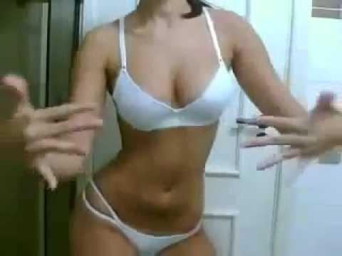 Beautiful girl sexy dance