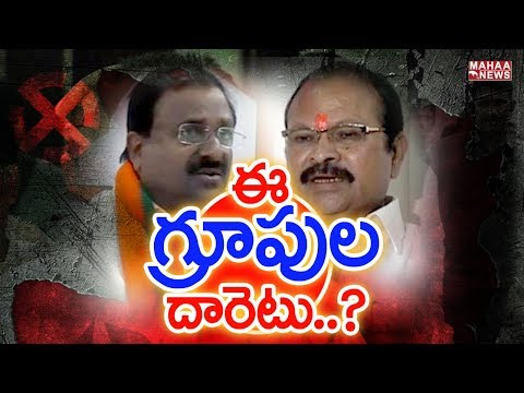 Group Politics in AP BJP: Somu Veerraju vs Kanna Lakshminarayana| Back Door Politics #2 | Mahaa News