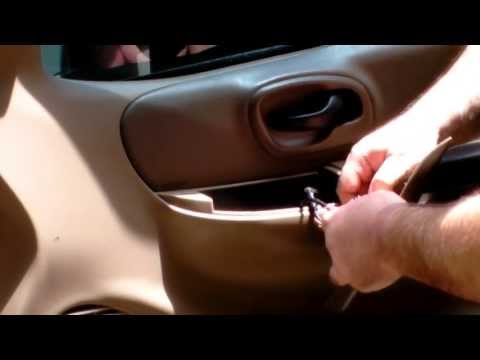 2001 Ford F150 Door Lock Actuator Replacement