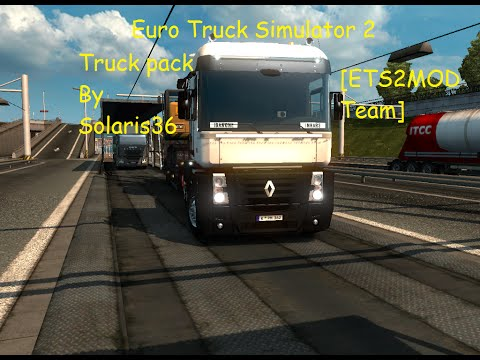 Euro Truck Simulator 2 - Renault Magnum Evolution pack by Solaris36