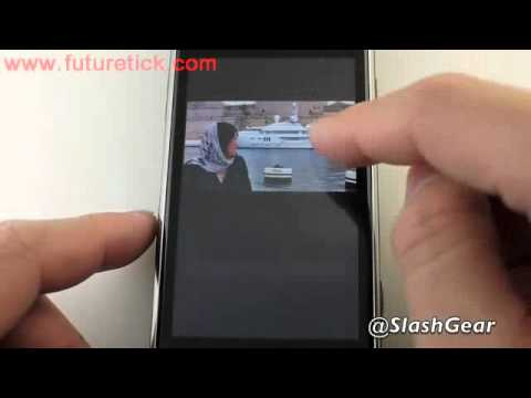 samsung i8910 omnia hd running WP7 part1