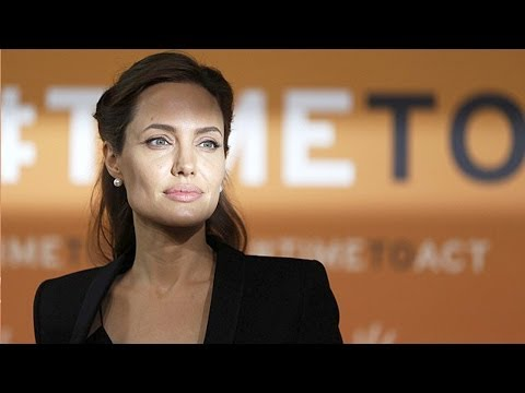 Angelina Jolie: We Havent Done Enough! at Sexual Violence Summit...