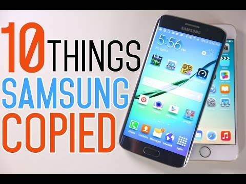10 Features Samsung Galaxy S6 Copied From Apple iPhone 6