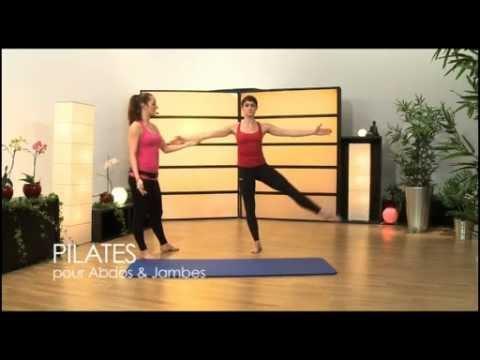 Avoir de belles jambes grâce au Pilates