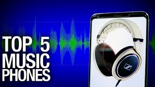 Top 5 Audio Smartphones of 2017! Candy for your ears! | Pocketnow