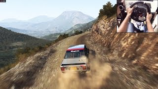 Fiat 131 Abarth Dirt Rally (logitech g29) gameplay