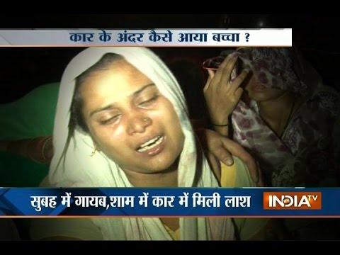 Noida: 6-year-old boy found dead in car