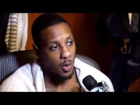 Mario Chalmers speaking about the heat win streak