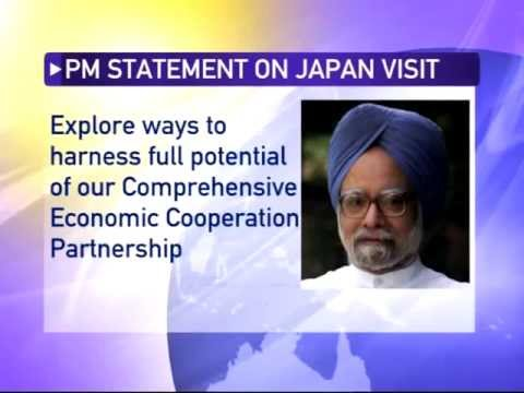 Prime Minister Manmohan Singh to visit Japan and Thailand