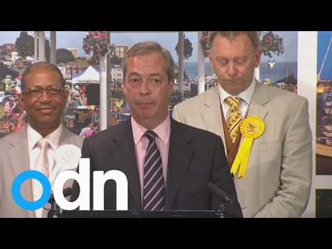 Nigel Farage loses seat in Thanet South