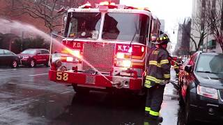 [ Manhattan 10-77 Box 1315 ] Fire on the 11th Floor - East Harlem