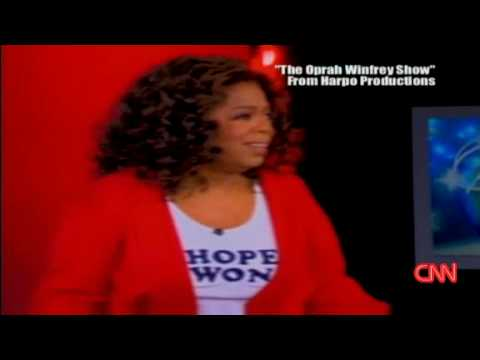 Oprah Winfrey Cried On  Human Hanky  During Obama s Election