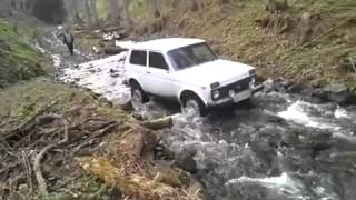 niva AMAZING offroad - river