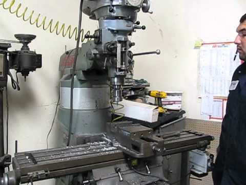 How to Zero a Bridgeport Milling Machine