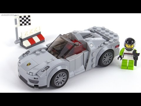 LEGO Speed Champions Porsche 918 Spyder review! set 75910