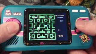 Ms. Pac Man Pocket Player Gameplay & Sound