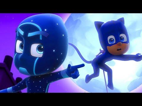Герои в масках    Лунное супер приключение   60 минут    мультики для детей
