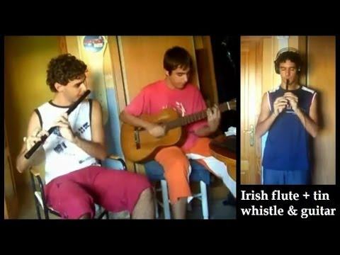 Irish Flute + Tin Whistle & Guitar Video