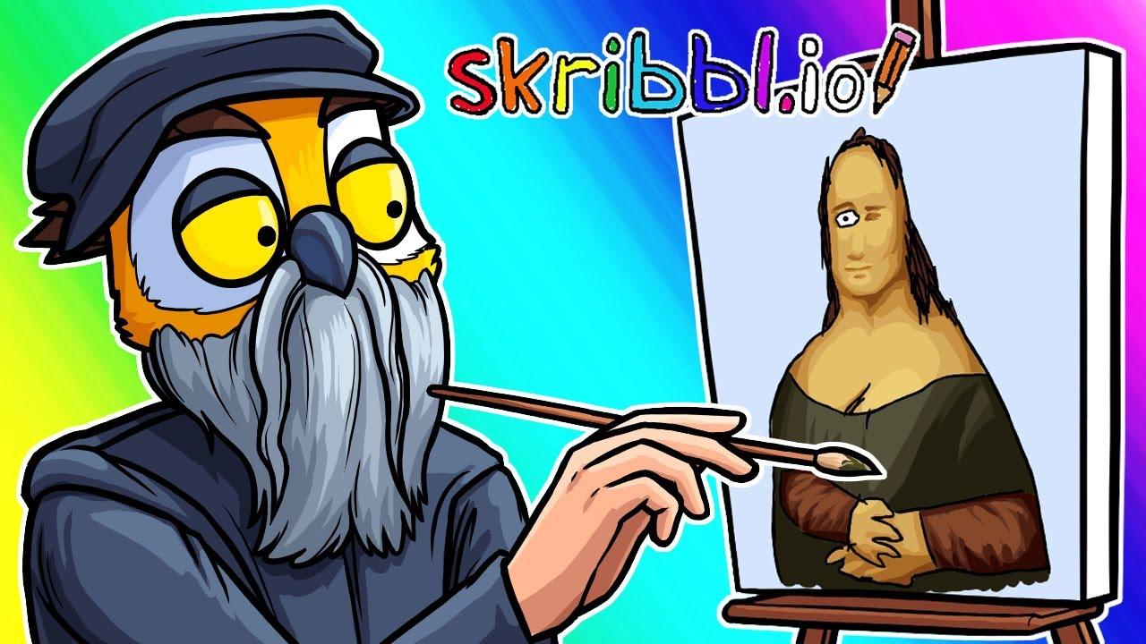 Skribbl.io Funny Moments - Spongebob Takeover and MEGA LISA!