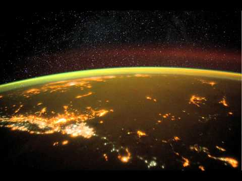 City Lights from Central Africa to Middle East