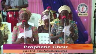 CAC (End-time Apostolic Ministries) There Is Going To Be A Revival In Nigeria Choir Song