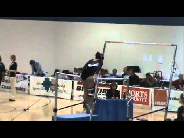 11-6-10 - Melissa Beltran (state gymnastics championships)
