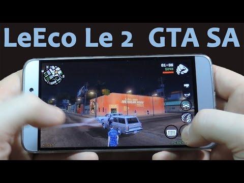 LeEco Le 2 в GTA San Andreas про работу ядер и тормоза