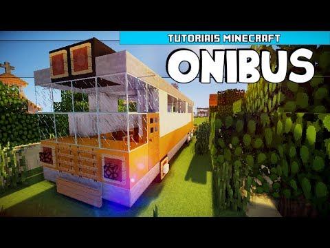 Tutoriais Minecraft: Como Construir um Ônibus