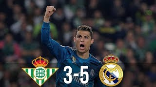 Real Betis vs Real Madrid 3-5 / Goals & Highlights