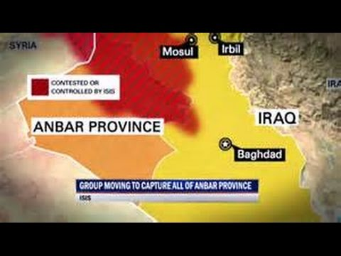 ISIS ISIL Battles Iraq & IRAN forces in Anbar province April 22 2015 Breaking News