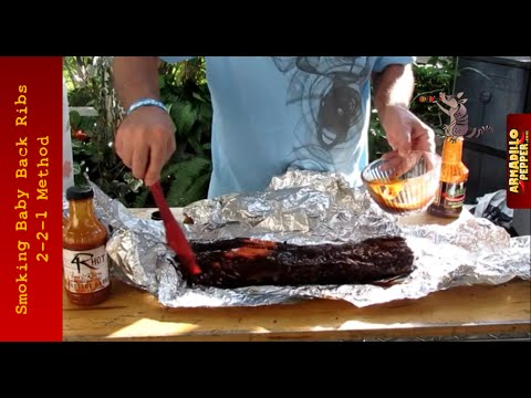 How to Smoke Baby Back Ribs | 2-2-1 Method with Oakridge BBQ Rub