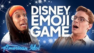 EMOJI CHALLENGE! Disney Song Titles - American Idol 2019 on ABC