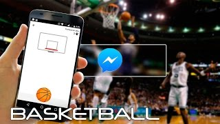 Juega Basketball en la App de Facebook Messenger