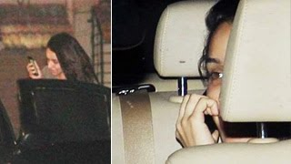 Shraddha Kapoor Caught outside Aditya Roy Kapur's House !