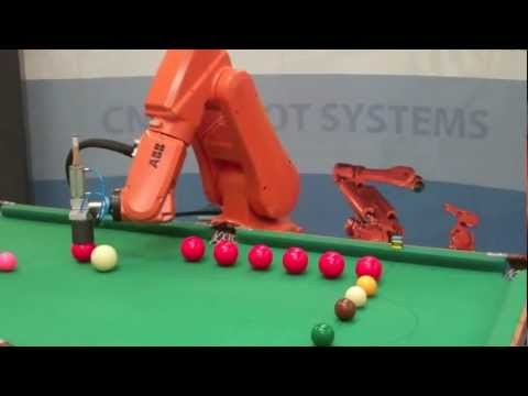 ABB Robot Playing Snooker